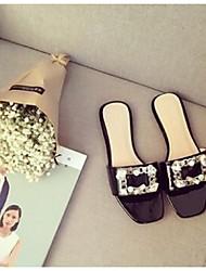 Women's Slippers & Flip-Flops Comfort PU Casual Flat Heel