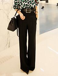 92016 printemps nouvelles femmes&# 39; taille était mince pantalon ample costume large pantalon de jambe occasionnels pantalon robe