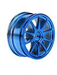 4Pcs/Set 1/10 Run-flat Car Tire Hub for Traxxas HSP Tamiya HPI Kyosho On-Road Run-flat Model Car