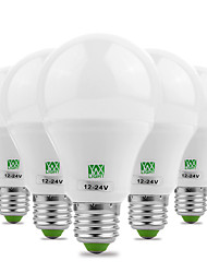 5Pcs YWXLight® E27 5730SMD 7W 14LED 600-700Lm Warm White Cool White Super High Brightness LED Bulb (AC/DC 12-24V)
