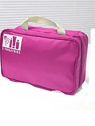Bolsa Necessaire Portátil Organizadores para Viagem para Portátil Organizadores para ViagemLaranja Azul Rosa claro