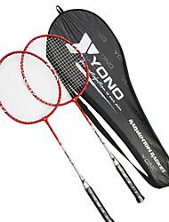 Raquetes para Badminton Durabilidade Alumínio Um Par para Interior Ao ar Livre Espetáculo Praticar Esportes de Lazer