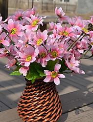 1 Филиал Пластик Сакура Букеты на стол Искусственные Цветы 13*13*18