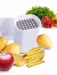3 ед. Картошка Cutter & Slicer For Для фруктов Для овощного Пластик Нержавеющая сталь Высокое качество Творческая кухня Гаджет