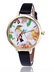 Fashion Bird Watch Women Flower Wrist Watch Garden Beauty Quartz Watch Gift Relogio Feminino