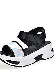 sandálias de verão solas leves conforto queda das mulheres do couro ocasional ao ar livre