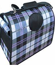 Saco dobrando do animal de estimação com saco do portátil do gato do cão da cortina