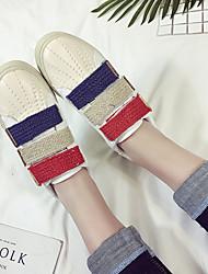 Primavera 2017 versão coreana do shell cabeça branca sapatos sazonal cor velcro feminino rodada sapatos baixos sapatos selvagens mulheres