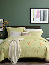 turqua запах как весенние вышитые 100% хлопка постельных принадлежностей 4шт комплект Пододеяльник включая утешитель случае наволочка