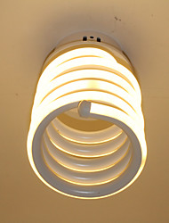 Montagem do Fluxo ,  Contemprâneo Pintura Característica for LED Estilo Mini Designers AlumínioSala de Jantar Cozinha Banheiro Entrada