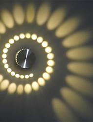 AC 100-240 3 LED Intégré Moderne/Contemporain Autres Fonctionnalité for LED Style mini Ampoule incluse,Eclairage d'ambianceappliques