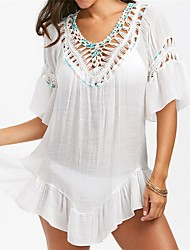 Women's Bandeau Cover-Up,Crochet Acrylic
