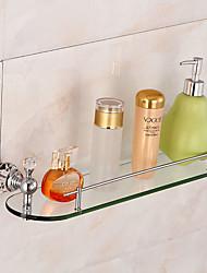 Set di accessori per il bagno / CromoOttone Vetro