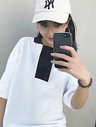 Really making 2017 new Korean side split short-sleeved polo shirt bottoming shirt