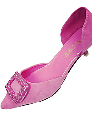 Women's Heels Spring Summer Comfort PU Casual Low Heel