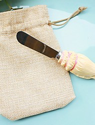 Resin Butter Spreader 13 x 3.5 cm/pcs in Burlap Bag Beter Gifts® Summer Party Favor