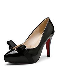 Femme-Bureau & Travail Habillé Soirée & Evénement-Noir Jaune Rouge-Talon Aiguille-club de Chaussures-Chaussures à Talons-Polyuréthane