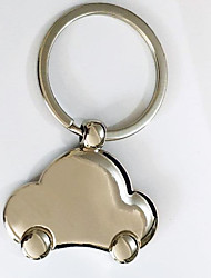 Key Chain Car Key Chain Silver Metal