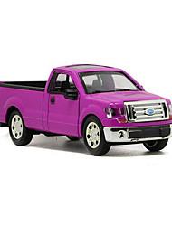 Farm Vehicle Pull Back Vehicles 1:32 Metal Purple