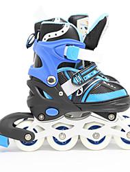 Kinder Inline-Skates EinstellbarBlau/Rosa