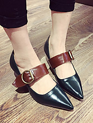 Women's Heels Comfort PU Casual Low Heel
