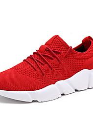 Herren-Sneakers Komfort Synthetik athletisch blau rot schwarz