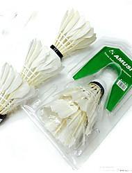 3pcs Badminton Volants Etanche Durable Stabilité pour Extérieur Utilisation Sport de détente Plume d'oie Autre