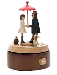 Music Box Toys Leisure Hobby Novelty Wood