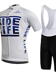 AOZHIDIAN Summer Cycling Jersey Short Sleeves BIB Shorts Ropa Ciclismo Cycling Clothing Suits #AZD150