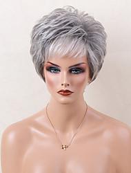 Remarkable Short Grey Wigs Lightinthebox Com Hairstyles For Women Draintrainus
