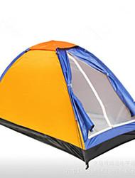 1 Pessoa Único Um Quarto Barraca de acampamentoEquitação Campismo Viajar-Laranja
