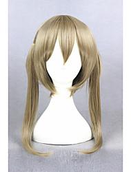 Kurz soul eater maka albarn blond synthetische 18inch Anime Cosplay Perücken cs-270b