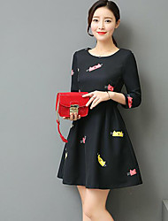 Sign tutu dress Girls long paragraph Korean Slim ladies spring 2017 Spring new fashion temperament