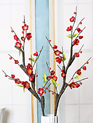 1 Branch Dried Flower Plum Tabletop Flower Artificial Flowers