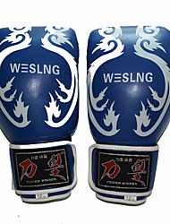 10 oz 12 oz 14 oz Boxing Gloves for Boxing Full-finger Gloves Breathable Wearproof Protective PU Black Red Blue