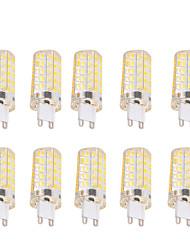 4W G9 E26/E27 Ampoules Maïs LED T 80 SMD 5730 400 lm Blanc Chaud Blanc Froid Gradable Décorative AC 100-240 AC 110-130 V 10 pièces