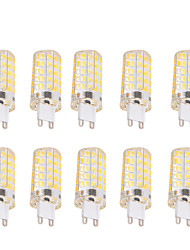 4W G9 E26/E27 LED лампы типа Корн T 80 SMD 5730 400 lm Тёплый белый Холодный белый Регулируемая Декоративная AC 220-240 AC 110-130 V10