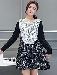 Осень новый корейский темперамент был тонкий полый цветок кружева крючком цветок слово свободно сшивание хеджирования женщин