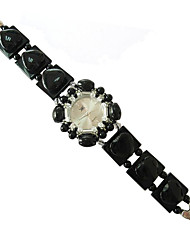 Women's Fashion Watch Quartz Jade Band Black Red Green