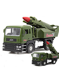 Military Vehicle Pull Back Vehicles 1:32 Metal Plastic Green