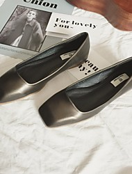 Women's Flats Comfort PU Casual Flat Heel