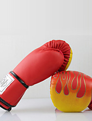 Boxing Gloves for Boxing Mittens Shockproof Wearproof Anatomic Design Protective PU FoamWULONG® Red Rough Black