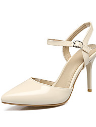 Women's Sandals Summer Fall Slingback PU Office & Career Party & Evening Dress Stiletto Heel Buckle