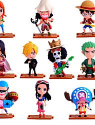 Las figuras de acción del anime Inspirado por One Piece Roronoa Zoro PVC 10 CM Juegos de construcción muñeca de juguete