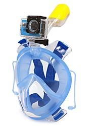 Contenitori per immersioni Maschera con boccaglio Maschere granfacciali Sub e immersioni Sub PVC Plastica Silicone-WINMAX