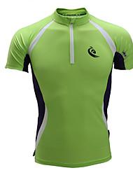 Short Sleeve Running Jersey + Bib Shorts T-shirt Sweatshirt Tracksuit TopsBreathable Anatomic Design Moisture Permeability Limits