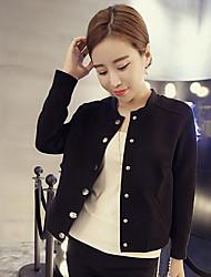 i nova camisa gola do casaco de camurça fina curto parágrafo cardigan uniforme de beisebol feminino camada fina