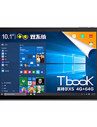 Tbook10S 10.1 polegadas Sistema Dual Tablet (Android 5.1 Windows 10 1920*1200 Octa Core 4GB RAM 64GB ROM)