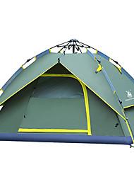 3-4 Pessoas Tenda Duplo Barraca de acampamento Portátil-Campismo Viajar