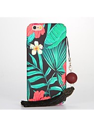 For DIY Case Back Cover Case Flower Hard PC for Apple iPhone 7 Plus iPhone 7 iPhone 6s Plus iPhone 6 Plus iPhone 6s iPhone 6